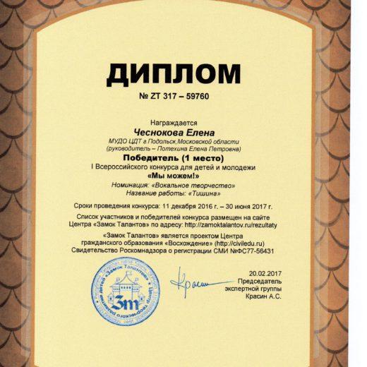 диплом Чеснокова144