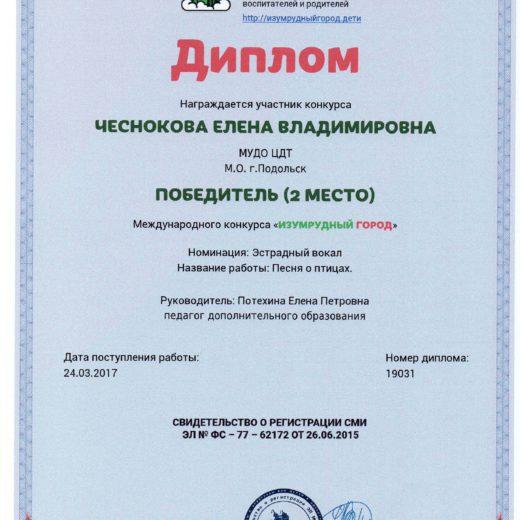 диплом Чеснокова148