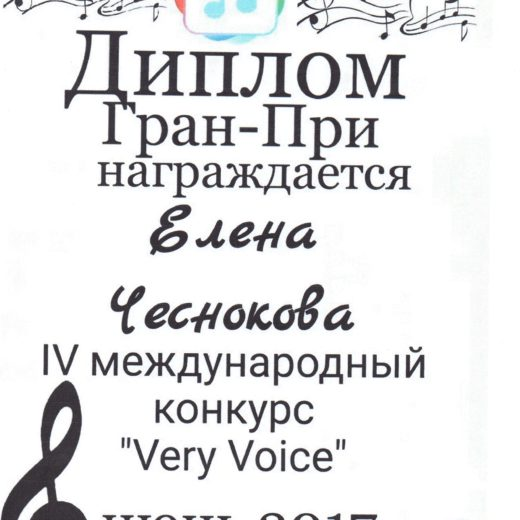диплом Чеснокова167