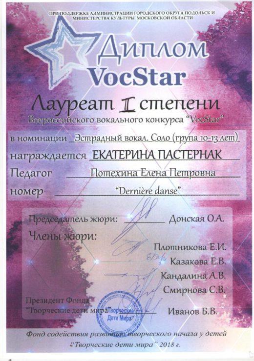 5.Екатерина Пастернак
